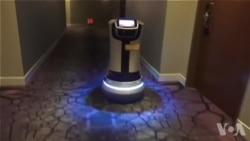 送货机器人服务便捷 已用于酒店和医院等