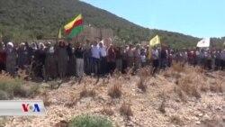Gelê Efrînê Êrîşên Tirkîyê Şermezar Kir