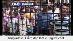 Giẫm đạp trong buổi phát quần áo từ thiện, 23 người chết (VOA60)