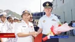 Truyền hình VOA 8/5/19: Tàu chiến Úc thăm cảng Cam Ranh