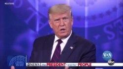 Трамп провів телевізійну зустріч із виборцями, які ще не визначилися за кого голосувати. Відео