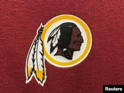 레드스킨스(Redskins) 로고.