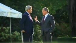 جان کری برای گفتگو با پوتین درباره اوکراین، سوریه و ایران وارد سوچی شد