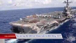Tổng thống Mỹ phê duyệt hải quân tuần tra nhiều hơn ở Biển Đông