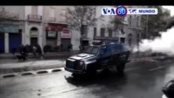 Manchetes Mundo 10 Maio 2017: Protestos estudantis violentos no Chile