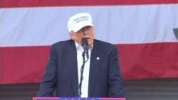Trump Talks about 'Crisis' of Clinton Win