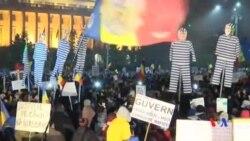 2017-02-06 美國之音視頻新聞: 羅馬尼亞大規模示威 推動廢除赦免官員政令