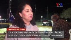 Vecinos de New Braunfels, Texas visitan sitio de masacre