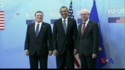 Tổng thống Obama họp bàn với khối NATO về Ukraine