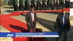 Washington Forum du jeudi 21 décembre : Cyril Ramaphosa à la tête de l'ANC