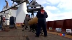 2014-04-16 美國之音視頻新聞: 無人潛艇再次入海搜尋馬航失蹤客機