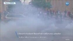 """Beyrut'ta """"Öfke Günü""""nde Şiddetli Protestolar"""