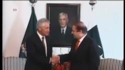 美國國防部長哈格爾將會見巴基斯坦總理