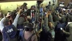 Opposition MDC-Alliance Leader Nelson Chamisa Casts Ballot