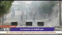 De nouveaux heurts en Tunisie