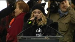 Madonna Tells Women's March DC Participants 'Good Will Win In The End'
