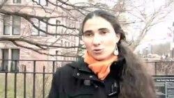 Yoani en Nueva York