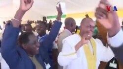 La joie des partisans d'IBK à l'annonce de sa réélection au Mali