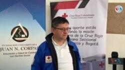 Cruz Roja atiende a 7500 migrantes en Bogotá