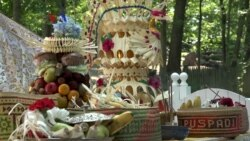 Perayaan Galungan Umat Hindu asal Bali di Washington, DC