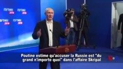 """Accuser la Russie est """"du grand n'importe quoi"""", selon Poutine (vidéo)"""