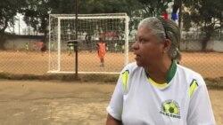 Eva Alves: Metade da sua reforma financia equipa de futebol Glicérios