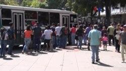 Colapsa el transporte público en Venezuela