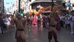 Çin Ejderhası İzmir Sokaklarında