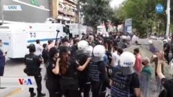 Van ve Diyarbakır'da Protestolara Polis Müdahalesi