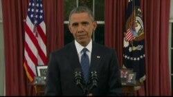 奥巴马总统就恐怖威胁向全美发表电视讲话