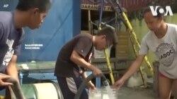 Dân Philippines vật lộn đối phó với sự cố mất nước
