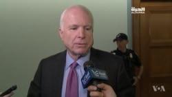 McCain Slams Russian Strikes in Syria