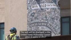 State Department Receives Historically-significant Section of Berlin Wall