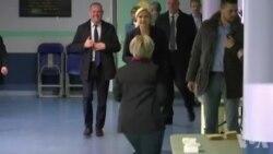 Présidentielle : Marine Le Pen a voté à Hénin-Beaumont (vidéo)
