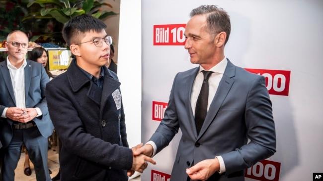 北京召见德驻华大使 谴责德国政界人士见黄之锋