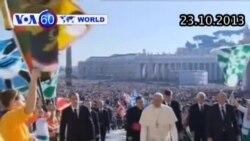 Giáo hoàng Phanxico đình chỉ một giám mục vì vung tiền cho nơi ở riêng (VOA60)