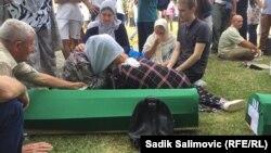 Srebrenica - Potočari - Bosnia and Herzegovina - Memorial center for the victims of Srebrenica genocide 1995 ahead of commemoration - July 11th 2021