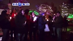 VOA60 America - Vigil held for the victims of Colorado Springs Planned Parenthood clinic shooting