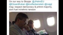 Хан доаѓа во Скопје со силна порака
