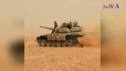 شام میں داعش کے خلاف سرکاری فورسز کی کاروائی
