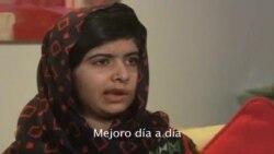 Malala habla de nuevo