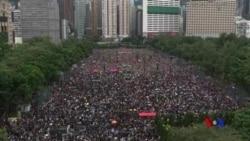 香港8.18大遊行 民陣稱170萬人上街