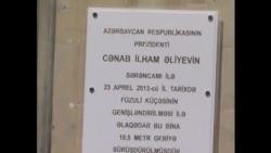 Hacınskinin evi 6 metr sürüşdürülüb