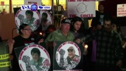 Manchetes Americanas 15 Dezembro: Activistas contra violência policial na Califórnia