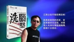 """VOA连线:""""洗脑的历史""""作者傅志彬遭判刑,律师指因言获罪"""