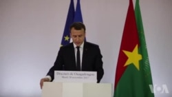 """Macron dénonce les crimes en Libye et ceux de la """"colonisation européenne"""""""