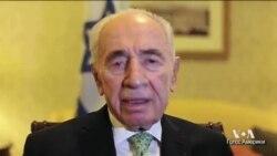 Президент Израиля Шимон Перес о кризисе в Украине