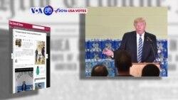 Manchetes Americanas 15 Setembro: Pastora metodista chama a atenção a Trump