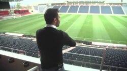 Glas Amerike sa srpskim zvezdama fudbala u Čikagu