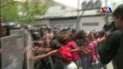 Familiares de reos demandan información sobre incendio en penal en Venezuela